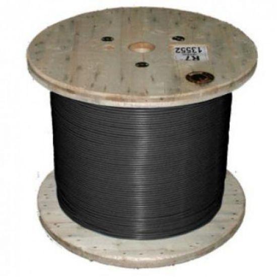 Кабель нагревательный одножильный отрезной TXLP BLACK (DRUM) 0.07 Ohm/m Black