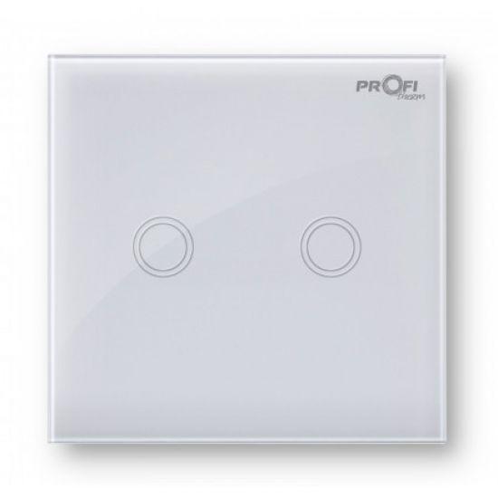 Выключатель сенсорный Profi therm 2TP, Snow White